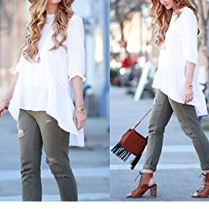 NEW ChicWish Loose Fit Dolly Shirt